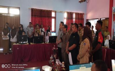 Pembukaan UNBK 2020 SMKN 1 Tutuyan  / Vicon Dengan Gubernur Olly Dondokambey, SE